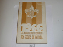 1966 Boy Scouts of America Annual Report to Congress