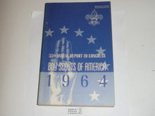 1964 Boy Scouts of America Annual Report to Congress