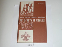 1962 Boy Scouts of America Annual Report to Congress