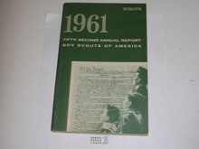 1961 Boy Scouts of America Annual Report to Congress