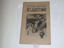 1947 Boy Scouts of America Annual Report to Congress