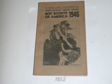 1946 Boy Scouts of America Annual Report to Congress