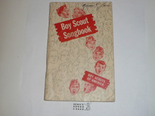 1962 Boy Scout Songbook