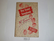1961 Boy Scout Songbook