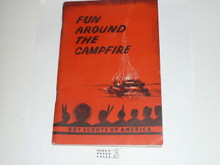 1956 Fun Around the Campfire, Boy Scouts, 5-56 printing