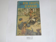 1958 The Den Chief's Denbook, Cub Scout, 9-58 Printing
