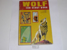1970 Wolf Cub Scout Handbook, 2-70 Printing, lt. use