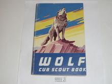 1958 Wolf Cub Scout Handbook, 9-58 Printing, lt. use