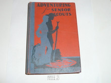 1944 Adventuring for Senior Scouts, First Edition, 1944 Printing