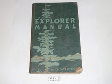 1950 Explorer Scout Manual, First Edition, 1950 Printing, used