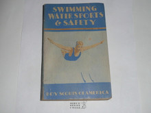 1938 Swimming and Water Safety, Fourth Edition, Third Printing
