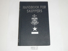 1947 Handbook for Skippers, Sea Scout, Second Edition, First Printing