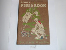 1958 Boy Scout Field Book, First Edition, Thirteenth Printing, Lightly Used condition