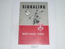 Signaling Merit Badge Pamphlet, 10-62 Printing
