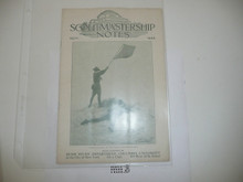 1926, September Scoutmastership Notes, Homestudy Department Columbia University