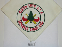 Region Seven Explorer Canoe Base Neckerchief