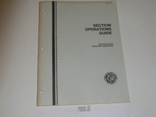 Order of the Arrow Section Operations Guide, 1989, 12-89 printing