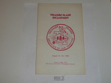 Unami Lodge #1 1983 Treasure Island Encampment Book