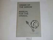 Ordeal Ceremony Manual, Order of the Arrow, 1985 Printing