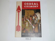 Ordeal Ceremony Manual, Order of the Arrow, 1969, 6-69 Printing