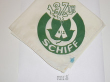 Schiff Scout Reservation, National Professional Training School Number 137 Neckerchief, Blue Stain
