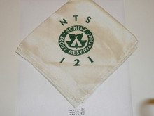 Schiff Scout Reservation, National Professional Training School Number 121 Neckerchief