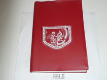 1983 Order of the Arrow Handbook, 2-83 Printing, in NOAC cover with NOAC Program