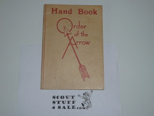 1948 Order of the Arrow Handbook, October 1948 Printing