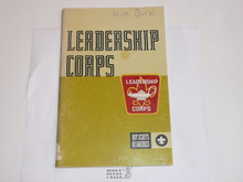 1973 Leadership Corps Handbook, very good used Condition