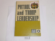 1972 Patrol and Troop Leadership Handbook, Fourth Edition, Second Printing, MINT Condition