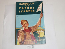 1959 Handbook For Patrol Leaders,  World Brotherhood (Second) Edition, MINT Condition