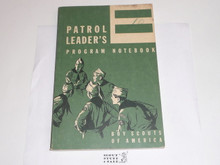 1967 Patrol Leader's Program Notebook, MINT Condition