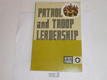 1972 Patrol and Troop Leadership Handbook, Fourth Edition, First Printing, MINT Condition