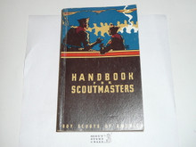 1956 Handbook For Scoutmasters, Fourth Edition, Tenthth Printing, Very good Condition