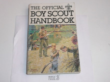 1979 Boy Scout Handbook, Ninth Edition, First Printing, Lightly Used condition, Last Norman Rockwell Cover