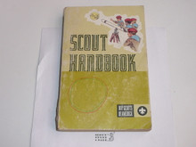 1970's Boy Scout Handbook, Eighth Edition, unknown Printing because first few pages missing, ysed condition