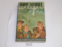 1968 Boy Scout Handbook, Seventh Edition, Fourth Printing, Used condition, Don Lupo Cover