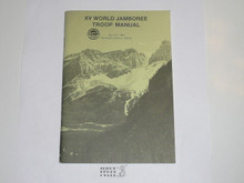 1983 World Jamboree Troop Manual