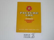 1957 World Jamboree Souvenier Picture Book, With Dust Jacket