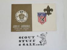 1957 World Jamboree USA/BSA Contingent Notecard