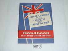 1957 World Jamboree and Moot, United Kingdom Contingent Handbook