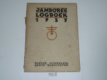 1937 World Jamboree Log Boek(Logbook)