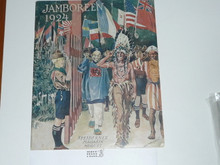 1924 World Jamboree, Denmark Foreign Language Magazine, 48 Pages
