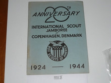 1924 World Jamboree 20 Year Anniversary Book With Letter From National and Updates on each Adult and Scout