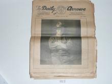 1929 World Jamboree Complete Set of Jamboree Newspapers