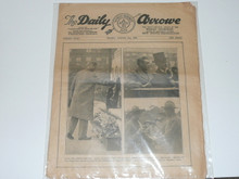1929 World Jamboree, Issue #4 of the Daily Newspaper, August 2nd