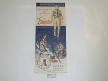 1964 National Jamboree Souvenier Map