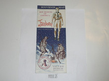 1964 National Jamboree Souvenier Map #2