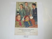 1960 National Jamboree Protestant Worship Service Program 17820