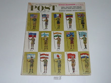 1960 Saturday Evening Post with Scouts of the World Cover and Article, July 23